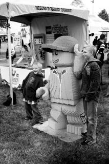 Giant Lego or Tiny Children?