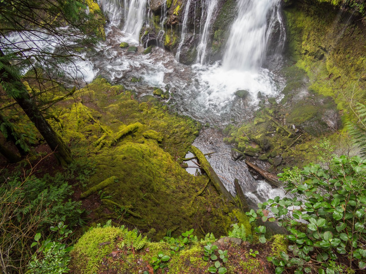 Waterfall, from Above